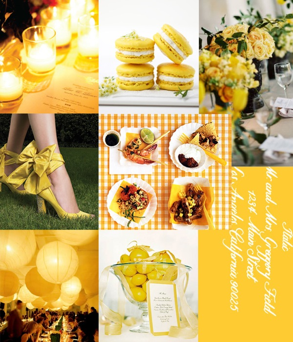 Lemon Drop Inspiration Board, Camille Styles