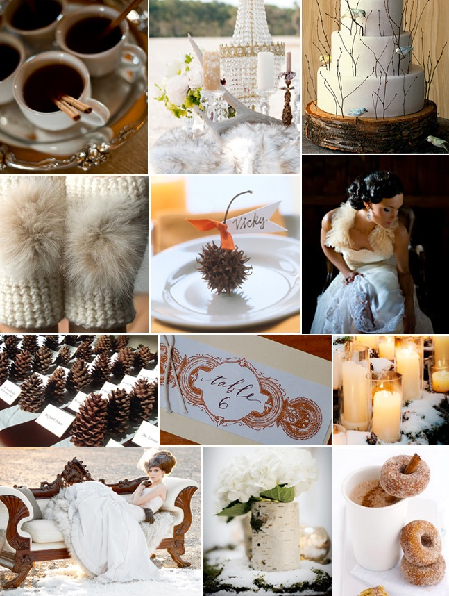 Hot Cocoa Inspiration Board