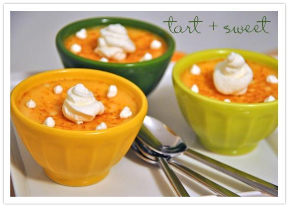 Thanksgiving Dessert-Orange Custard-Camille Styles Events