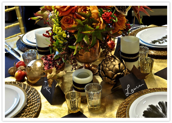 Traditional Thanksgiving Table Setting-2-Camille Styles