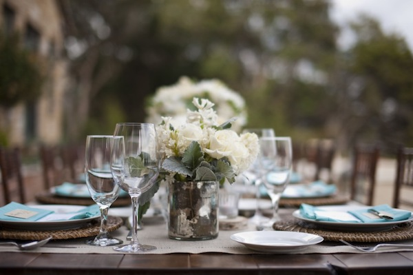 Rustic Organic Table Setting- Rebecca Fondren-Camille Styles Events