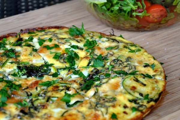 Tuesday Tastings :: Spring Vegetable Frittata - Camille Styles