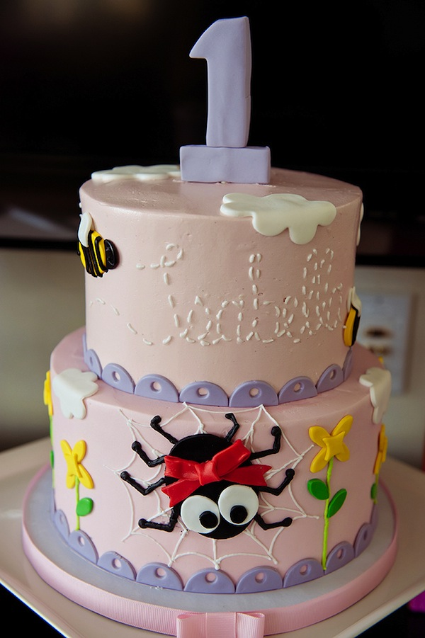 Itsy Bitsy Spider Birthday Cake