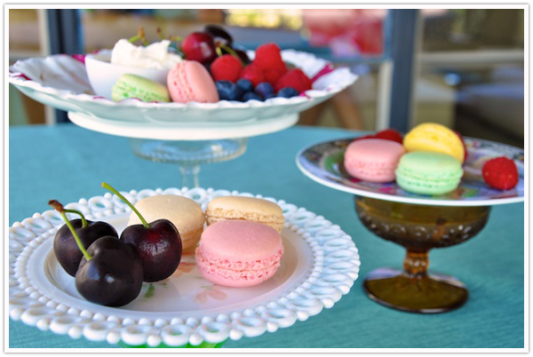 diy cake stand vintage compote plate dessert - camille styles events