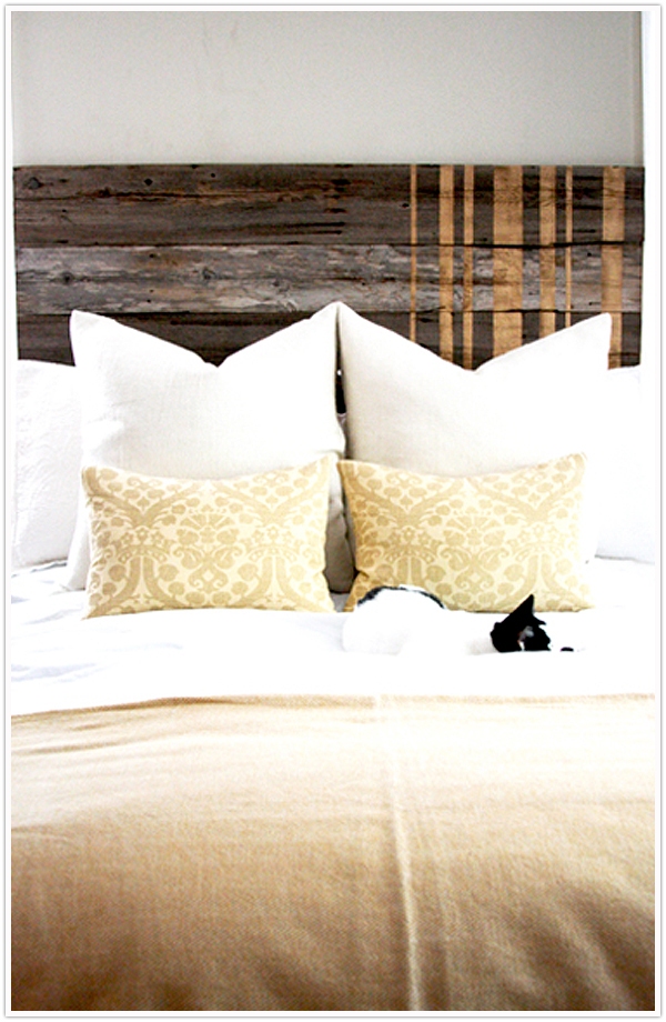 Headboard Wooden Diy Fence Posts Instructions Step By