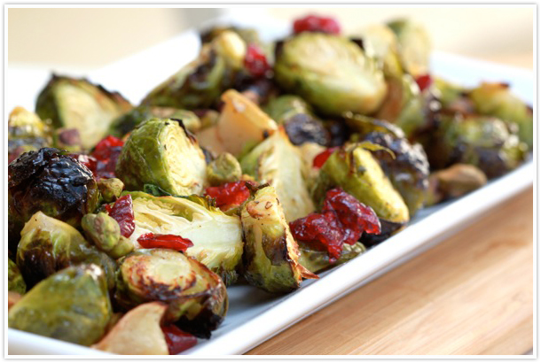 brussels sprouts fall recipe easy vegetarian vegetable