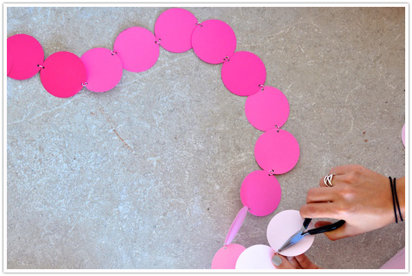 Circle Garland Chain DIY