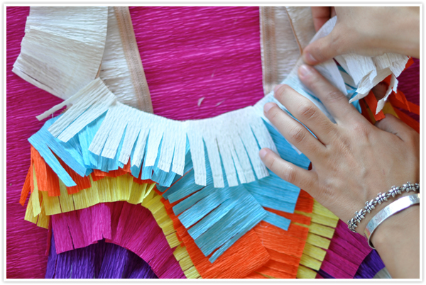 piñata halloween costume step by step diy