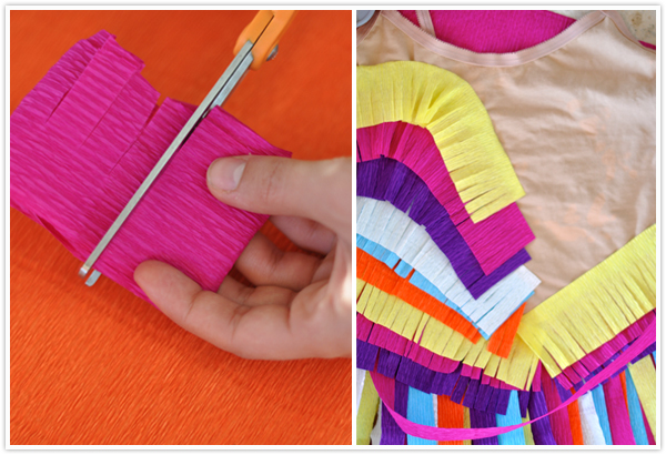 PINATA halloween costume step by step diy