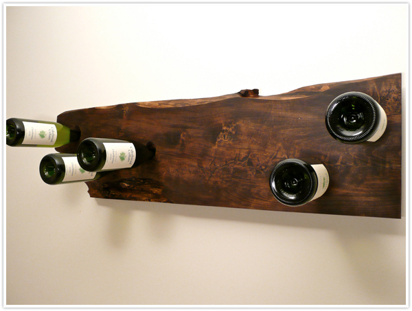 wine bottle_wine rack_diy_wood