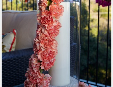 garland flower step by step diy carnation the byrd collective floral florist fiesta decor party