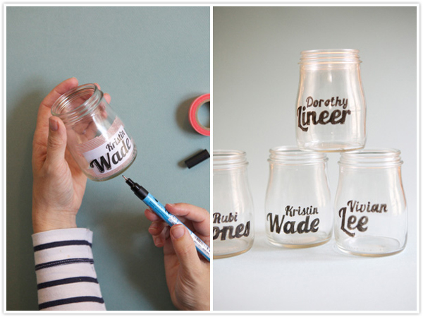 diy easy craft glass do it yourself vase paint