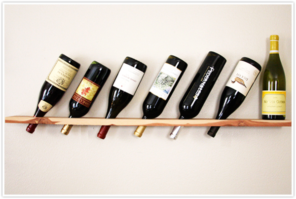 wine rack design diy