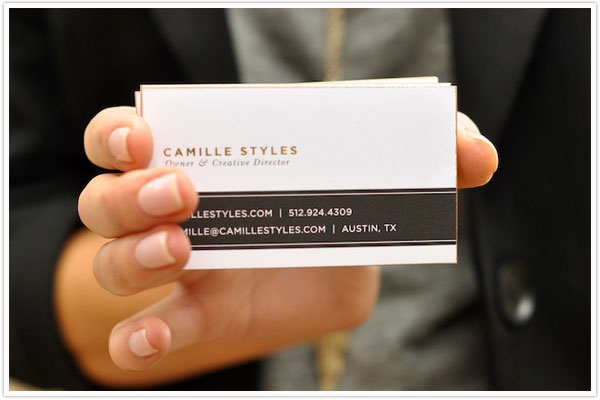 Taking care of business - Camille Styles