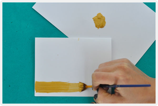 Diy Gilded Thank You Cards Camille Styles