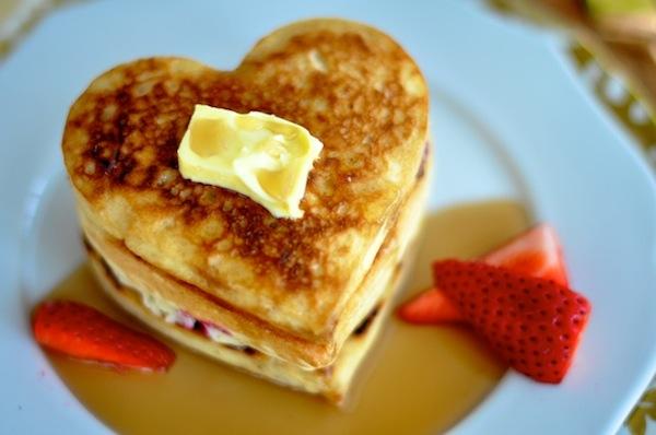 Elegant Heart Shaped_Pancakes4