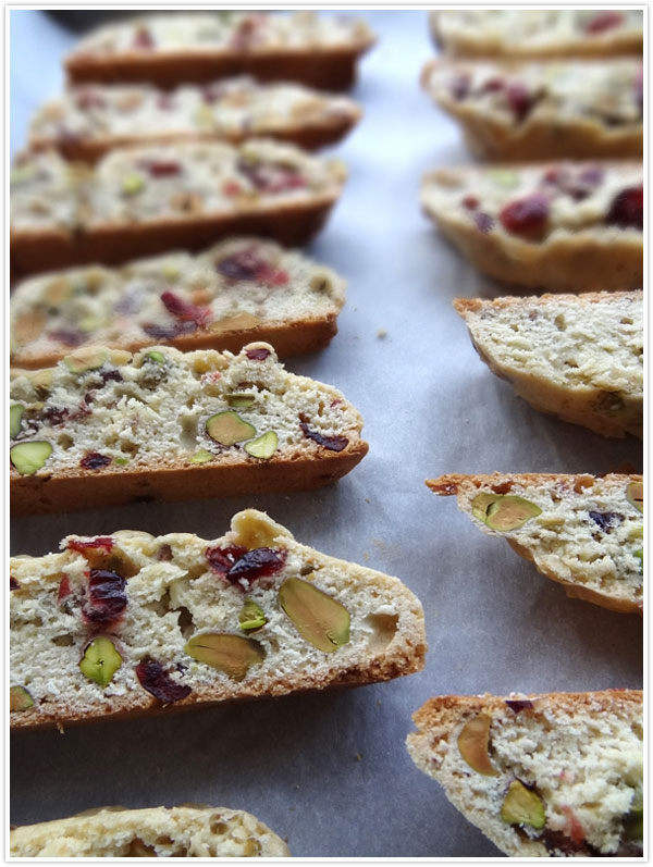 cranberry pistachio biscotti recipe coffee guest blog food snack tea time