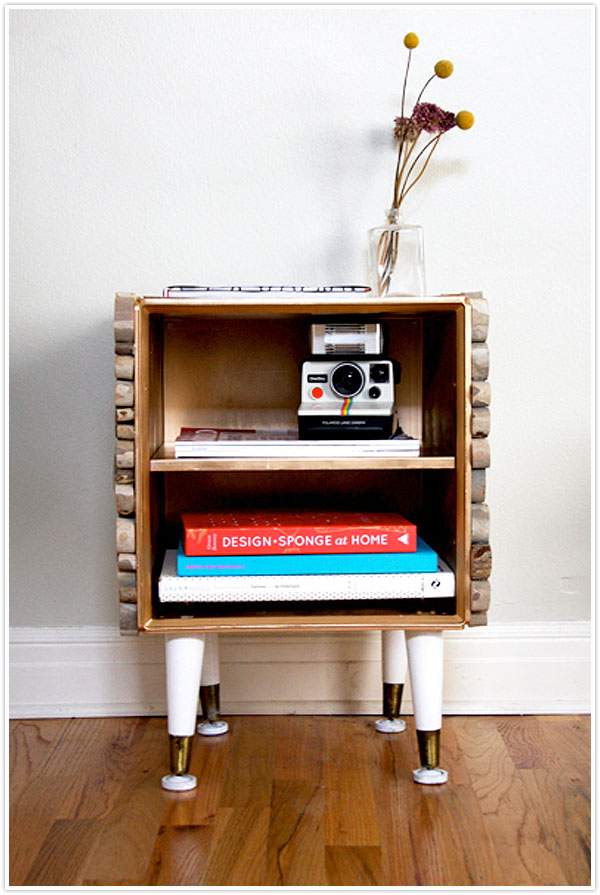 wood tree branch diy craft build your own side table project
