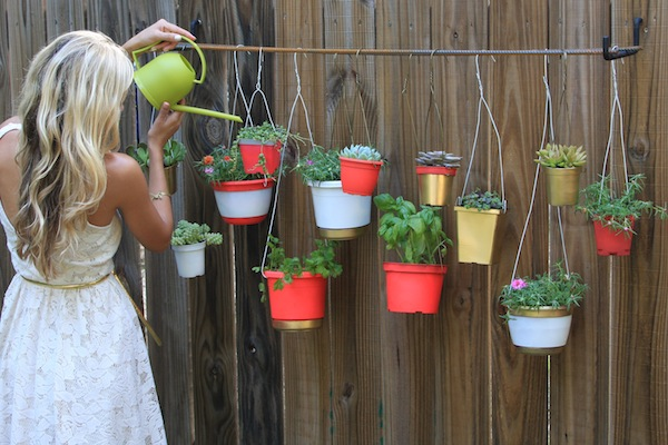 claire transformed diy plant garden hanging spring ideas inspiration