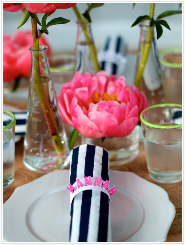 DIY Pop Up Place Cards Camille Styles