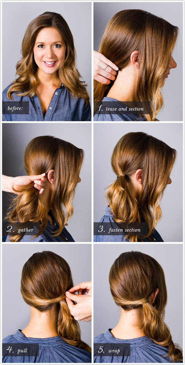 Pretty Simple Classic Side Ponytail Camille Styles