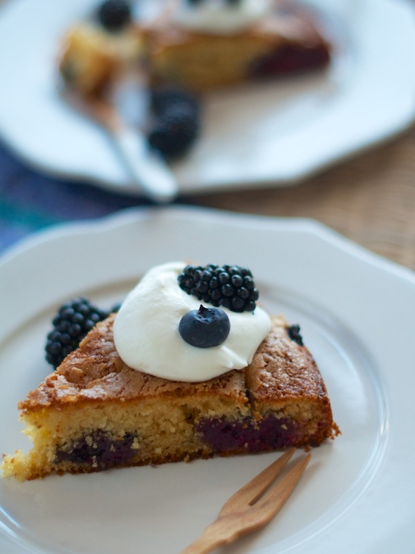 Blackberry Buttermilk Cake | Camille Styles