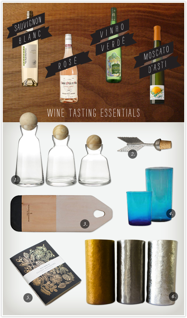 Wine Tasting Essentials from www.camillestyles.com