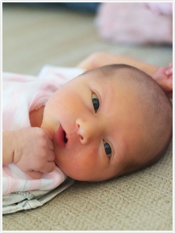 Baby Phoebe | Camille Styles