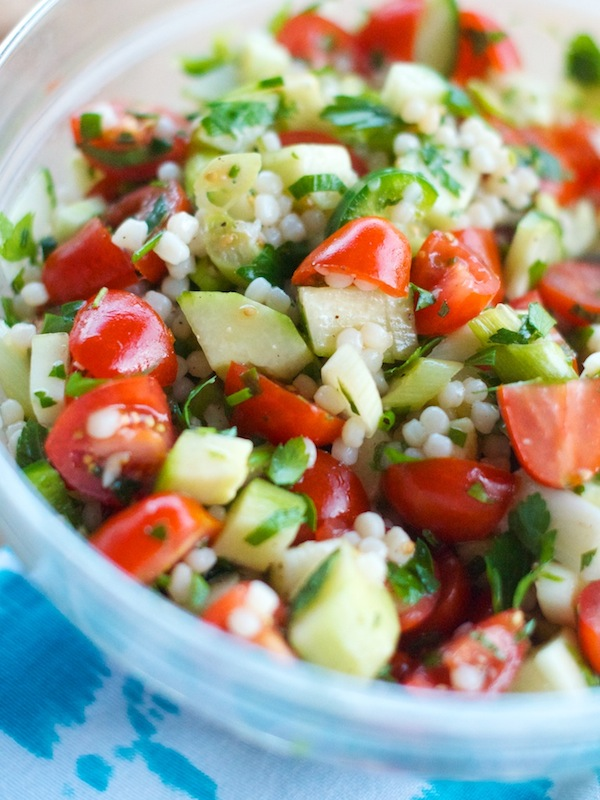 Tabbouleh Recipe | Camille Styles