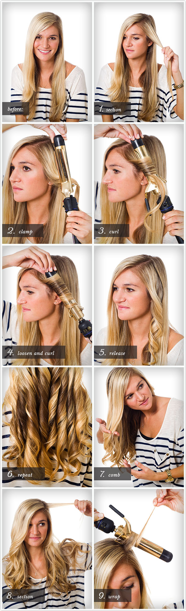 Pretty Simple Curl Class Camille Styles