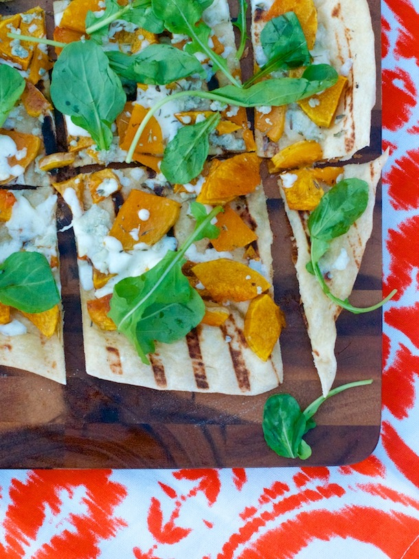 Butternut Squash Blue Cheese Pizza (2)