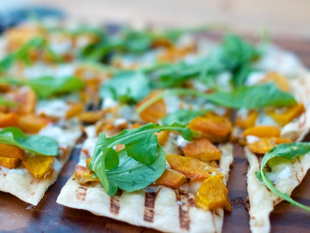 Butternut Squash & Blue Cheese Pizza | Camille Styles