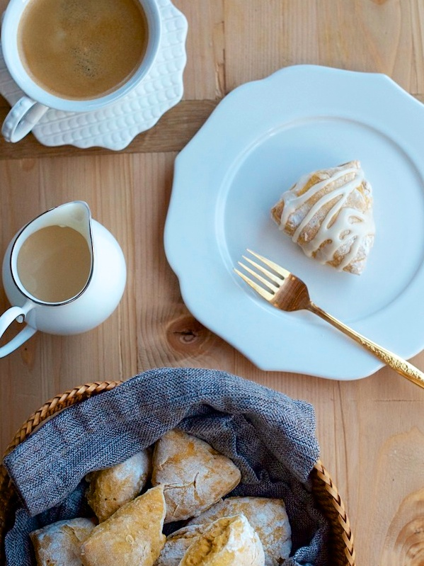 Sweet Potato Scones by Forgiving Martha for Camille Styles