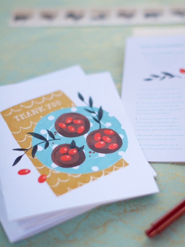 Printable Thank You Card by Katie Evans | Camille Styles