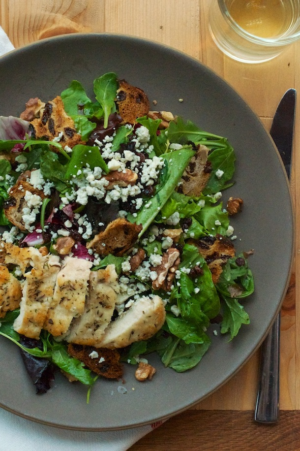Apple & Blue Cheese Harvest Salad   Camille Styles