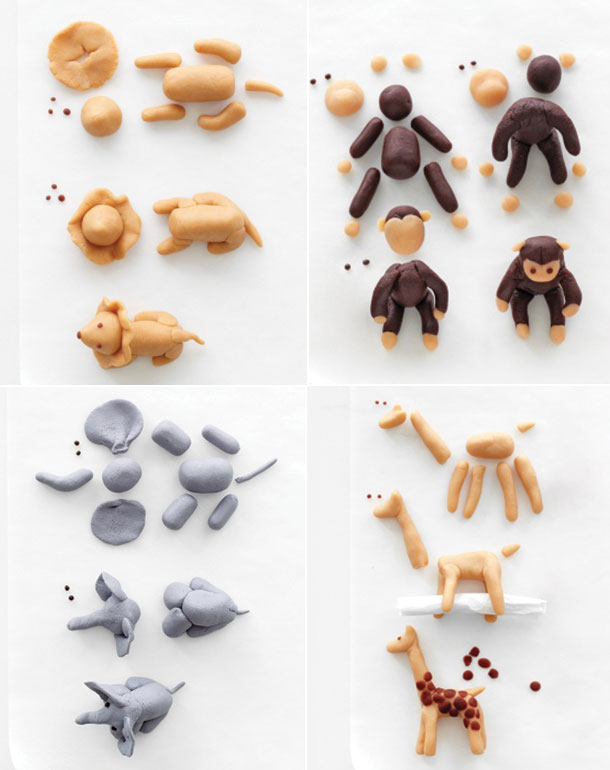 easy clay animals - photo #21