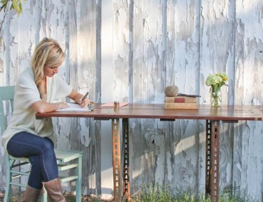 DIY Dining Room Table | Claire Zinnecker for Camille Styles