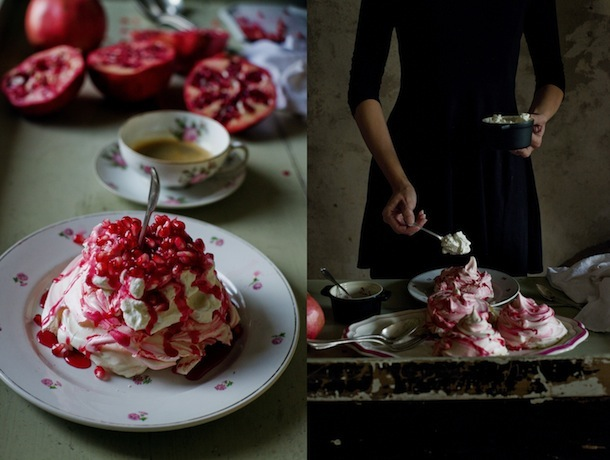 Pomegranate Meringue Recipe | Mimi Thorisson for Camille Styles