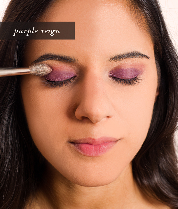 Pretty Simple Purple Eyeshadow Tutorial by Martha Lynn Kale | Photos by Cory Ryan for Camille Styles