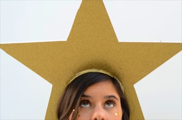 Diy shoot for the stars camille styles how to make a shooting star costume for halloween solutioingenieria Choice Image