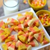 Candy Corn Cookie Bites | Camille Styles