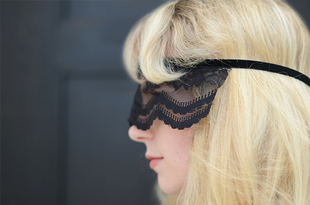 diy glam lace mask camille styles