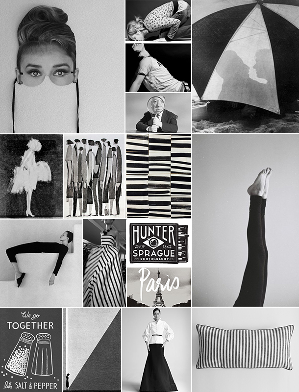 Salt and Pepper Inspiration Board | Camille Styles