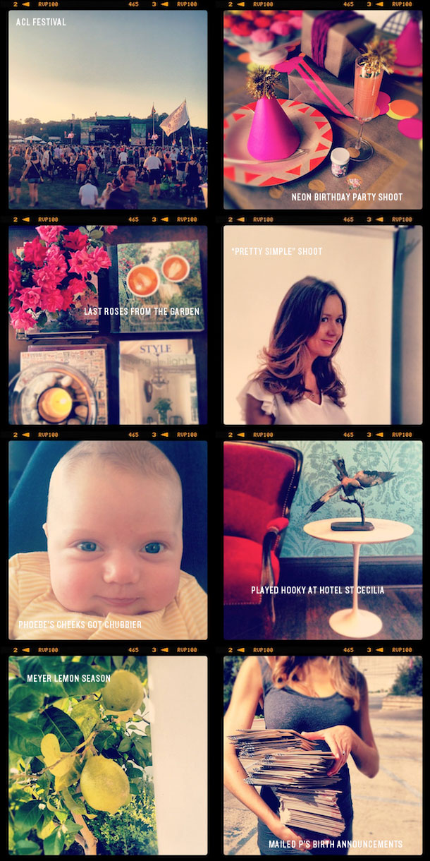 October Instagrams | Camille Styles