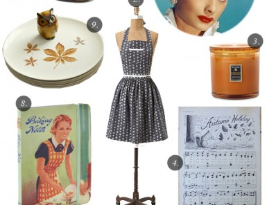 A Lucille Ball Inspired Thanksgiving DInner | Grown Up Shoes for Camille Styles