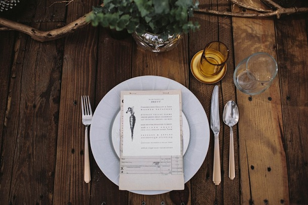 Rustic Thanksgiving Dinner - Camille Styles7