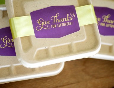 Thanksgiving Leftovers Sticker Label | Camille Styles