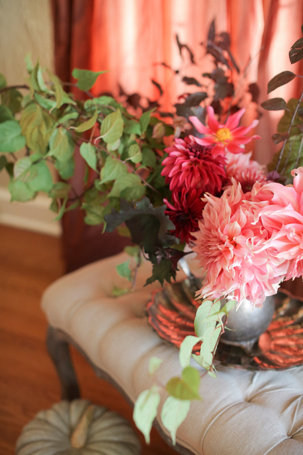 Thanksgiving Florals by Mckenzie Powell | Photos by Michele. M. Waite for Camille Styles