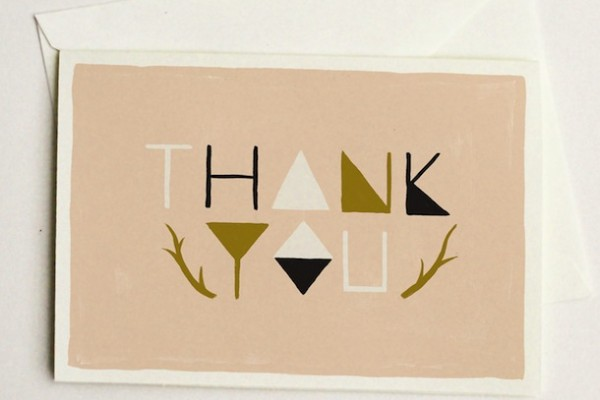 10 Best Thank You Cards | Camille Styles