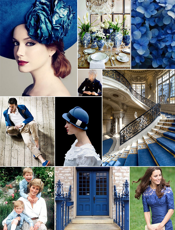 Royal Blue Inspiration Board | Camille Styles